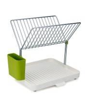 Сушилка для посуды и столовых приборов 2-уровневая со сливом Y-rack Joseph Joseph