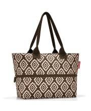 Сумка Shopper E1 diamonds mocha Reisenthel