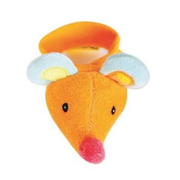 Погремушка на запястье Мышка