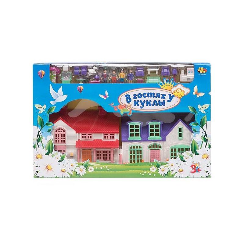 ABtoys Дом В гостях у куклы калужская область продаю дом есть школа дсад