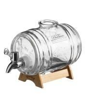 Диспенсер для напитков Barrel на подставке 1 л Kilner