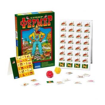 Настольная игра для детей Супер Фермер