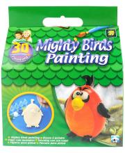 Набор Разрисуй попугая 3D