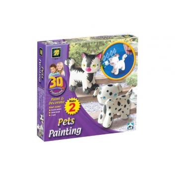 Набор Разрисуй домашних любимцев 3D