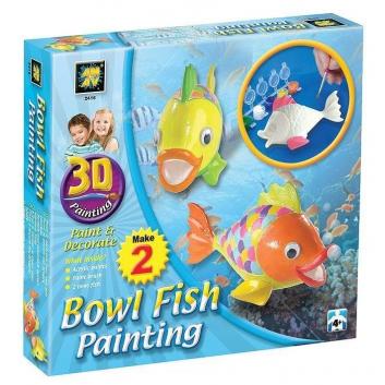 Набор Разрисуй рыбок 3D