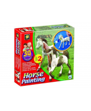 Набор Разрисуй лошадей 3D Diamant