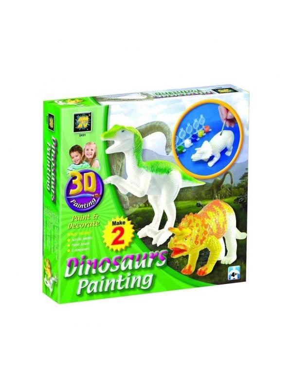 Набор Разрисуй динозавров 3D Diamant