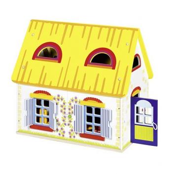 Дом для кукол Коттедж с наполнением