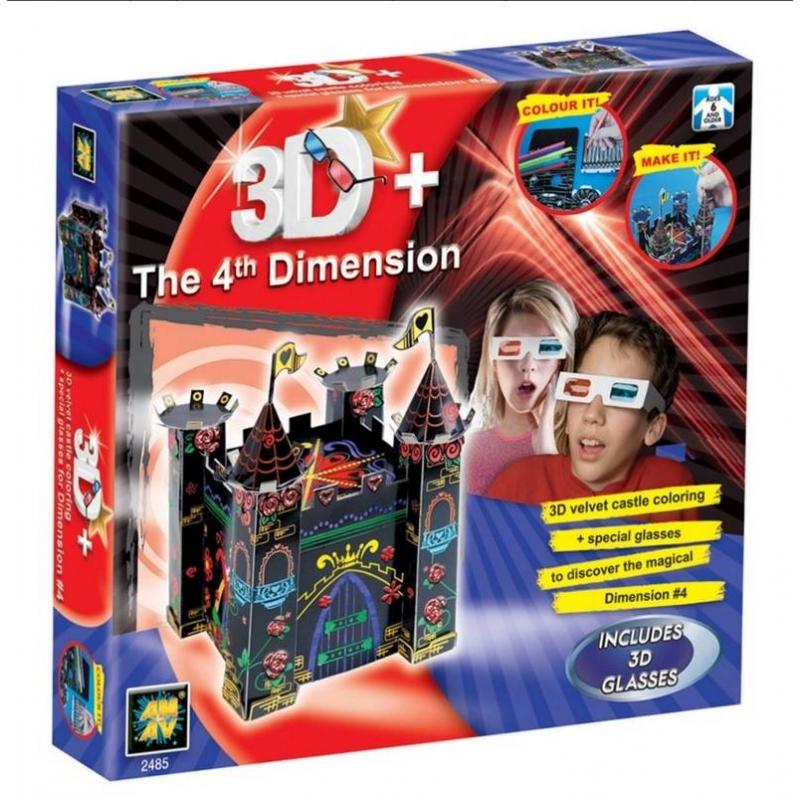 Diamant Набор Замок 3D 3d очки для компьютера в георгиевске