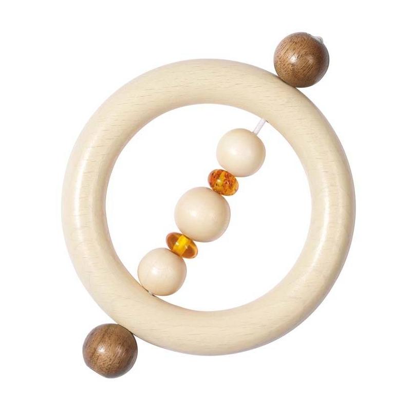 Погремушка-кольцо Янтарь