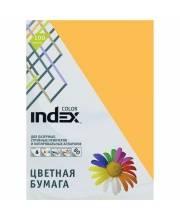 Бумага цветная А4 80гр 100 шт Index Color