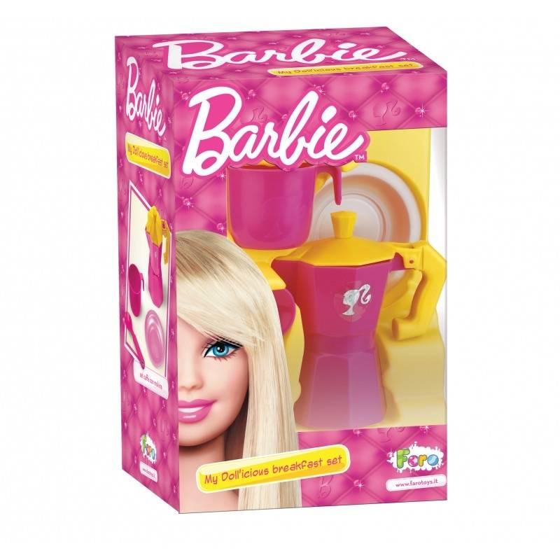 FARO Подарочный набор Barbie игрушечная посуда faro большой набор посуды