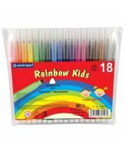 Набор фломастеров Rainbow Kids 18 шт CENTROPEN