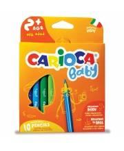 Карандаши цветные экстра-крупные Baby CARIOCA