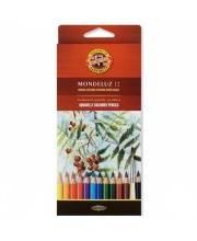 Набор карандашей акварельных Mondeluz 12 шт KOH-I-NOOR