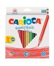 Карандаши цветные Triangular 24 шт CARIOCA