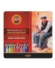 Набор карандашей акварельных Mondeluz 24 шт KOH-I-NOOR