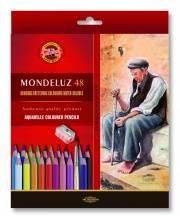 Набор художественных карандашей акварельных Mondeluz 48 шт KOH-I-NOOR
