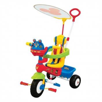 Трехколесный велосипед Микки Маус