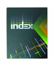 Тетрадь на кольцах А5 в клетку 160 л INDEX