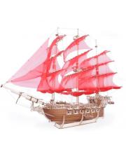 Сборная модель из дерева Корабль Пегас 638 деталей Lemmo