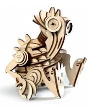 Конструктор 3D деревянный подвижный Кеша 74 детали Lemmo