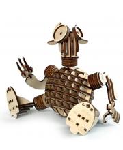Конструктор 3D деревянный подвижный Гоша 95 деталей Lemmo