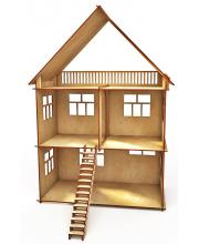 Конструктор-кукольный домик Коттедж 33 детали ХэппиДом