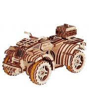 Механический 3D-пазл из дерева Квадроцикл 165 деталей Wood Trick