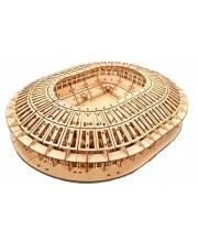 Сборная модель Стадион Лужники 379 деталей UNIWOOD