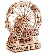 Механическая сборная модель Механическое колесо обозрения 301 деталь Wood Trick