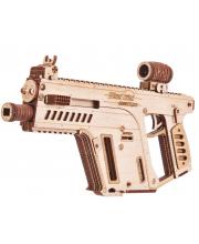 Механический 3D-пазл из дерева Штурмовая винтовка 158 деталей Wood Trick