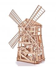 Механический 3D-пазл из дерева Механическая мельница 131 деталь Wood Trick