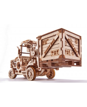 Механический 3D-пазл из дерева Погрузчик 385 деталей Wood Trick