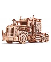 Механический 3D-пазл из дерева Тягач Биг Риг 485 деталей Wood Trick