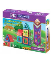 Магнитный конструктор Кукольный домик 35 деталей Магникон