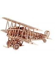 Механический 3D-пазл из дерева Самолет 148 деталей Wood Trick