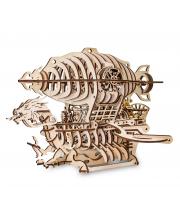 Конструктор деревянный 3D Дирижабль 450 деталей Eco Wood Art