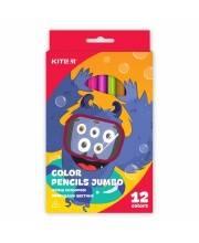 Карандаши цветные Jumbo Jolliers 12 шт Kite