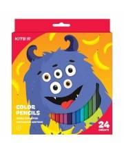 Карандаши цветные Jolliers 24 шт Kite