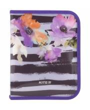 Папка объемная на молнии B5 Flowers Kite