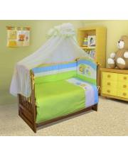 Комплект постельного белья 7 предметов Джунгли