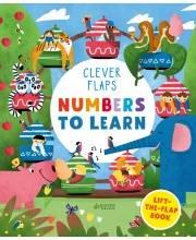 Книга English Books Numbers To Learn Учим числа Книжка с клапанами