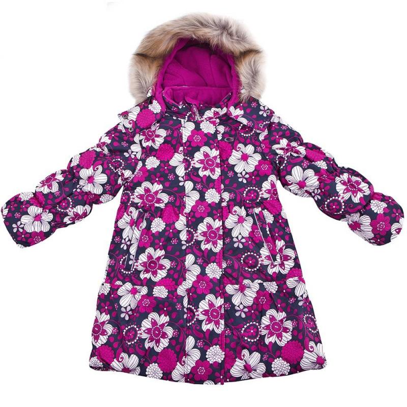 Пальто густи для девочки зима