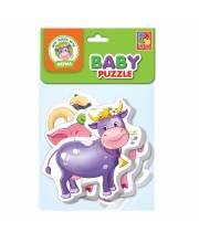 Мягкие пазлы Baby puzzle Ферма