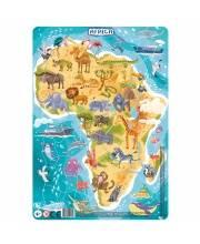 Пазл в рамке Африка 53 элемента