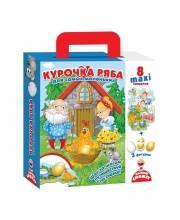 Игра настольная путешествие по сказке Курочка Ряба Vladi Toys