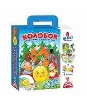 Игра настольная Путешествие по сказке Колобок Vladi Toys