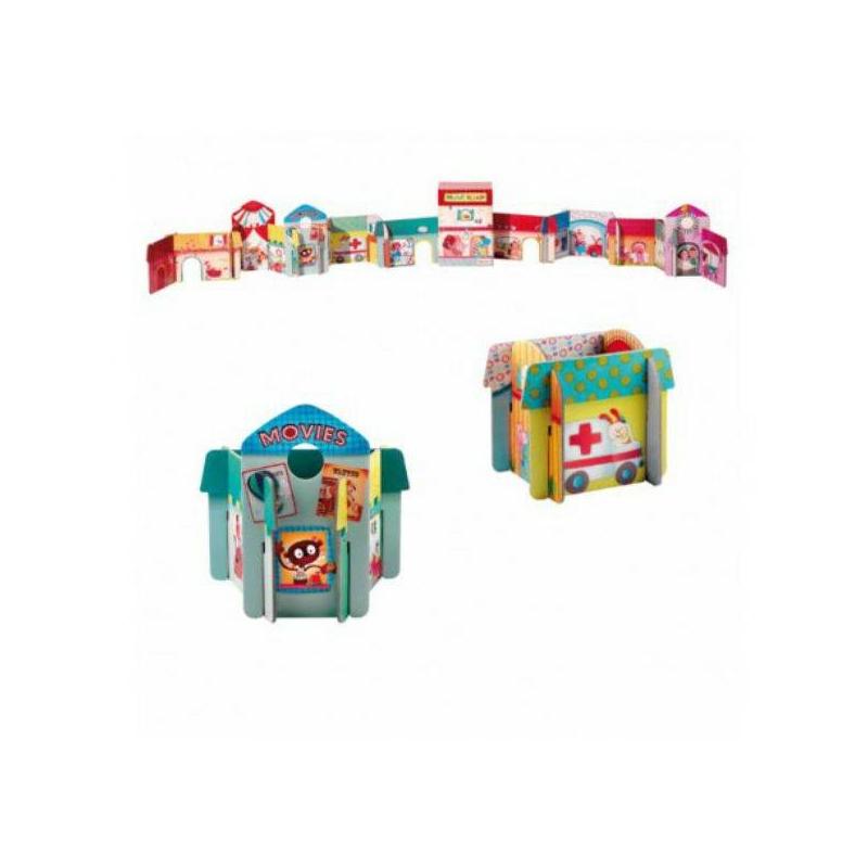 Набор 3D пазлов Собери городНабор 3D пазлов Собери город маркиLilliputiens.<br>Пазлы очень полезны для детского развития. Они тренируют мелкую моторику рук, логику и воображение.<br>Домики собираются из разных деталей. Собрав все пазлы, ребенок получает полноценный город, который можно использовать в сюжетных играх.<br><br>Возраст от: 3 года<br>Пол: Не указан<br>Артикул: 634384<br>Бренд: Бельгия<br>Размер: от 3 лет