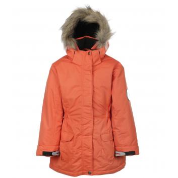 Девочки, Парка Аляска DudElf (оранжевый)308726, фото